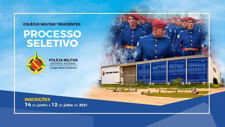 Processo seletivo do Colégio Militar Tiradentes