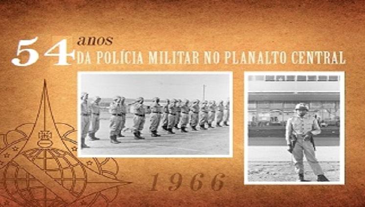Nostalgia: Há 54 anos, a PMDF chegava ao Planalto Central