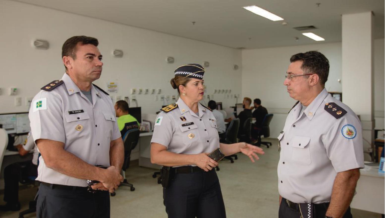 Comandante-Geral visita Centro Médico e efetiva ações para agilizar os serviços oferecidos